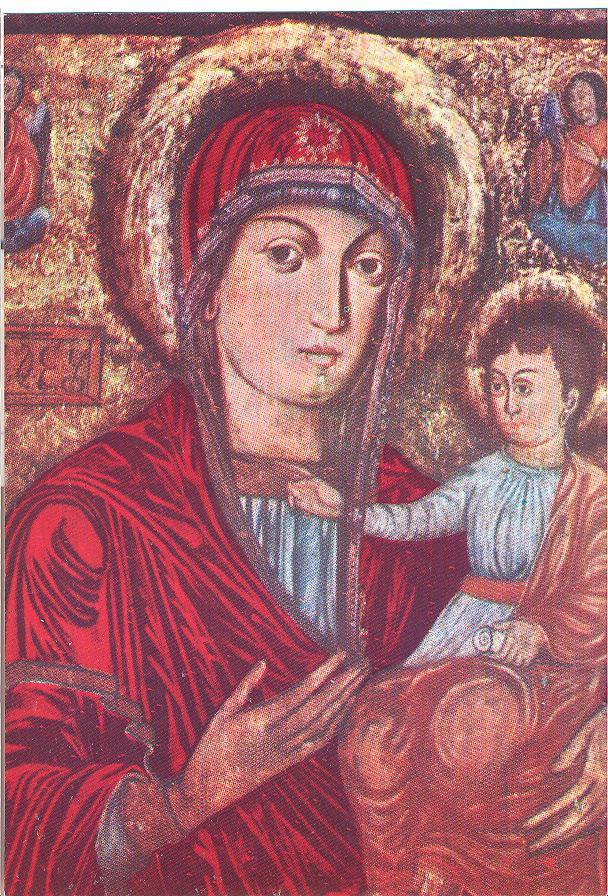 Saint Mary of Nicula Icon