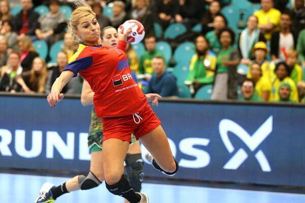 Handball Romanian Women Sport Romania 44