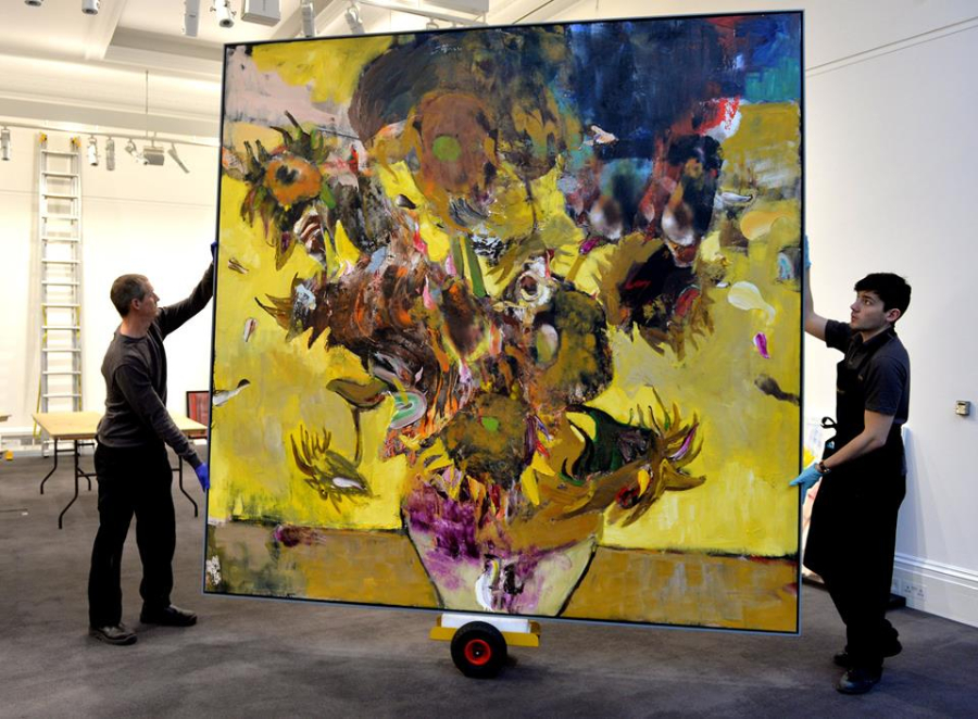 Painting By Romanian Adrian Ghenie Sells For Usd 4 5 Mln In Sothebys Auction on famous paintings in romania