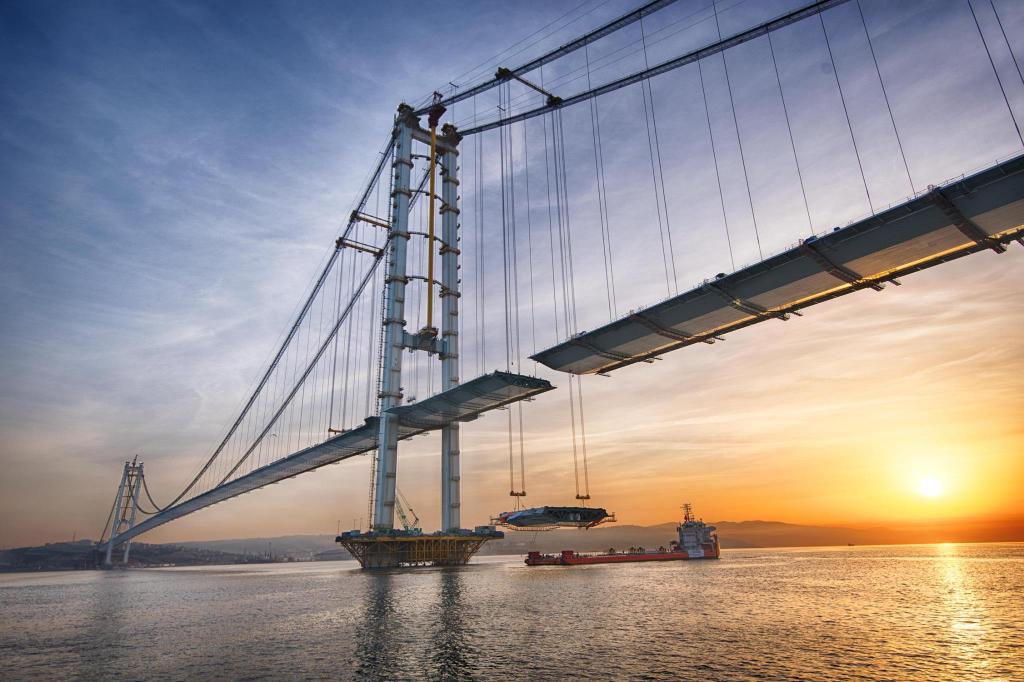Romanian Steel Used For Building Longest Bridge In Turkey