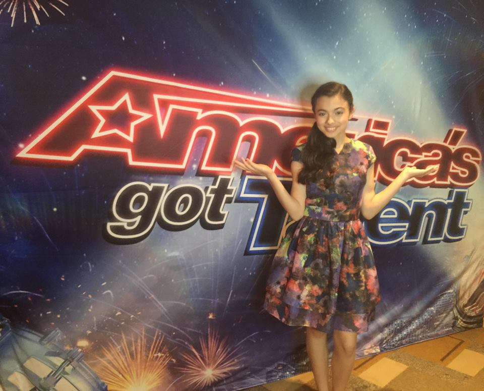 Romanian Laura Bretan, on the cards to win America's Got Talent