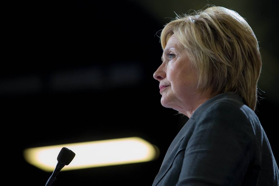 ... between Donald Trump and Hillary Clinton, on Wednesday morning