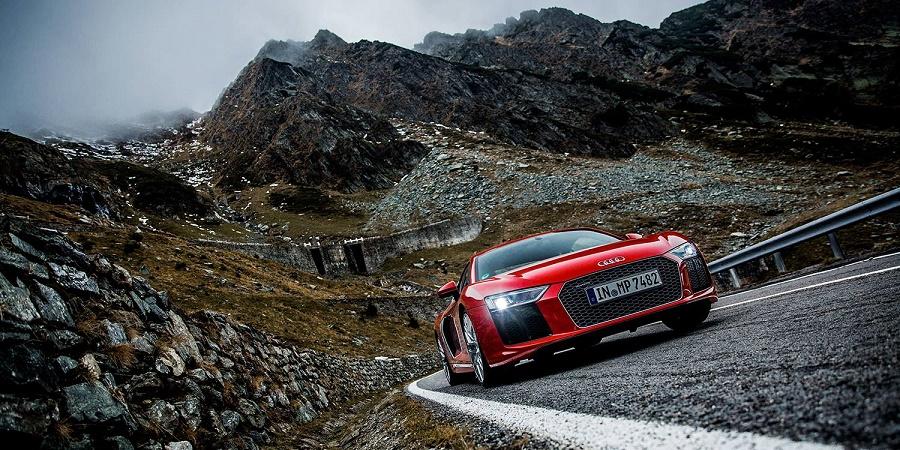Audi Drives Its R8 Supercar On Romania S Transfagarasan