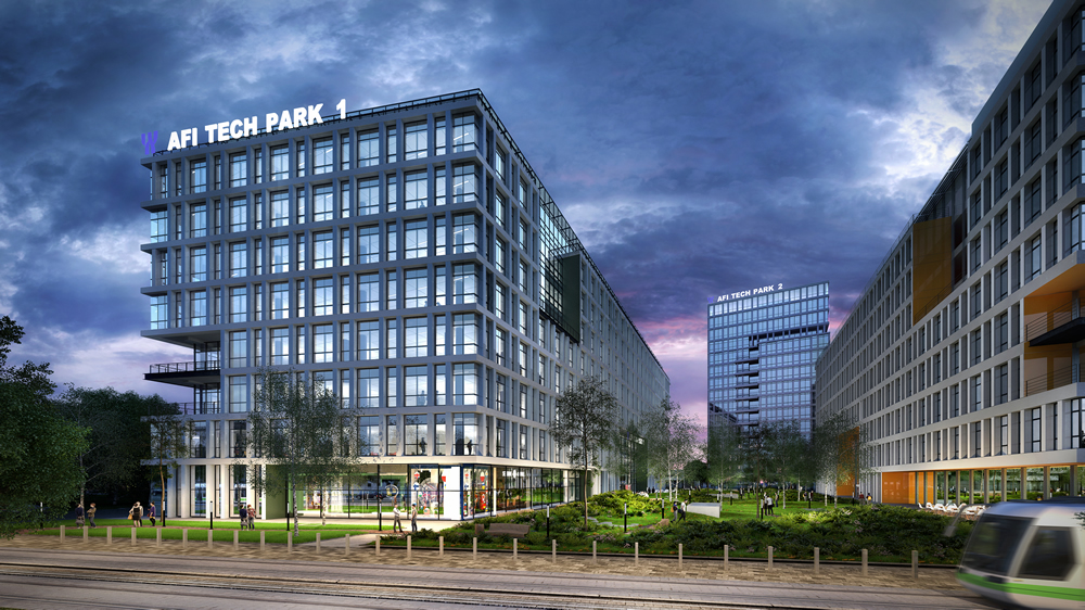 Afi Europe Starts The Construction Of Afi Tech Park Office