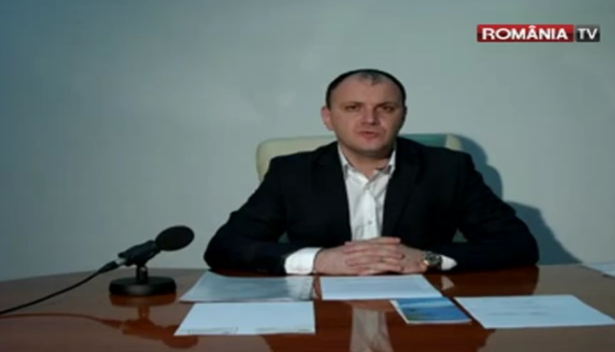 Former MP Sebastian Ghita in one of his video recordings