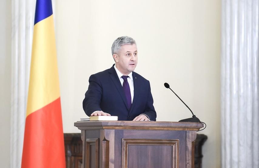 Romania's justice minister Florin Iordache