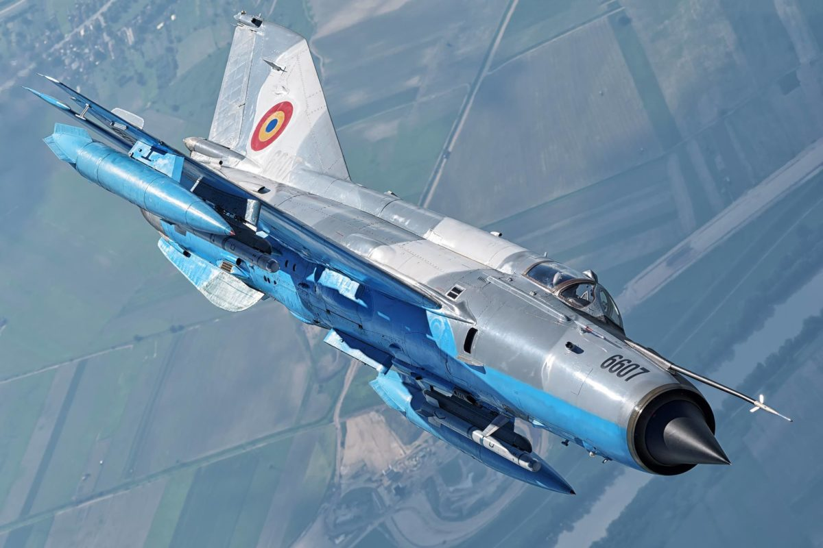 Mig 21 Lancer Aircraft Crashes In Romania Pilot Manages