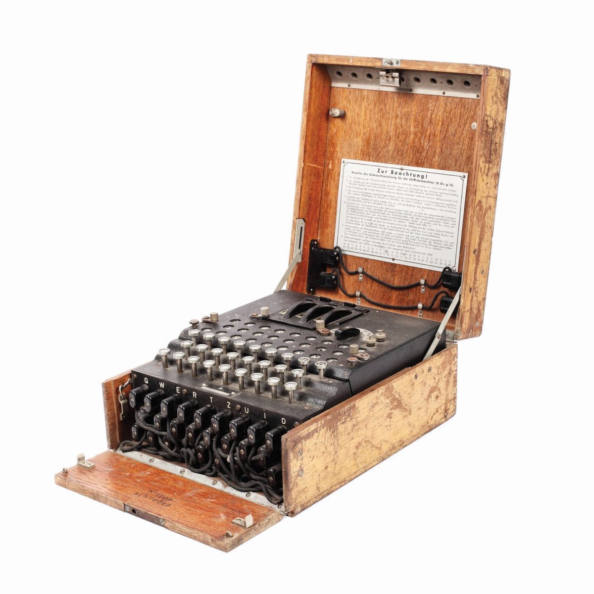Wwii Enigma Cipher Machine Sells For Eur 45 000 At