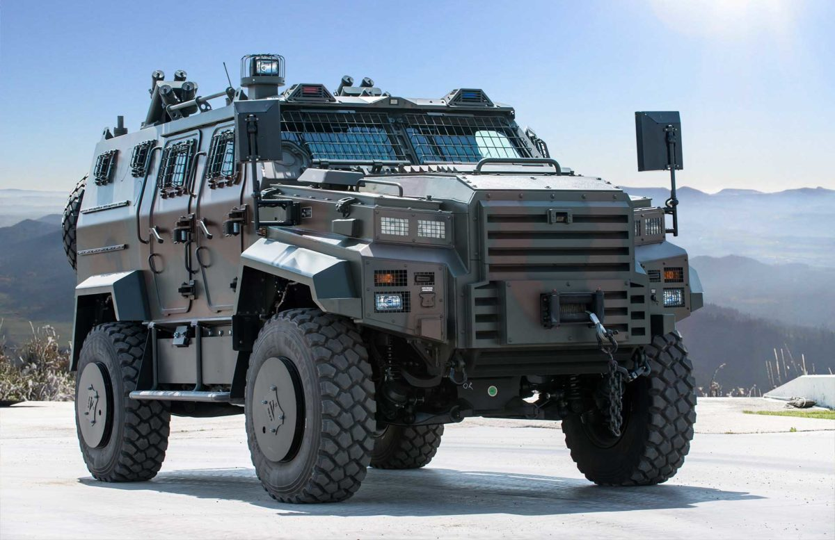 The company for the assembly of armored vehicles Paramount in Kazakhstan 1