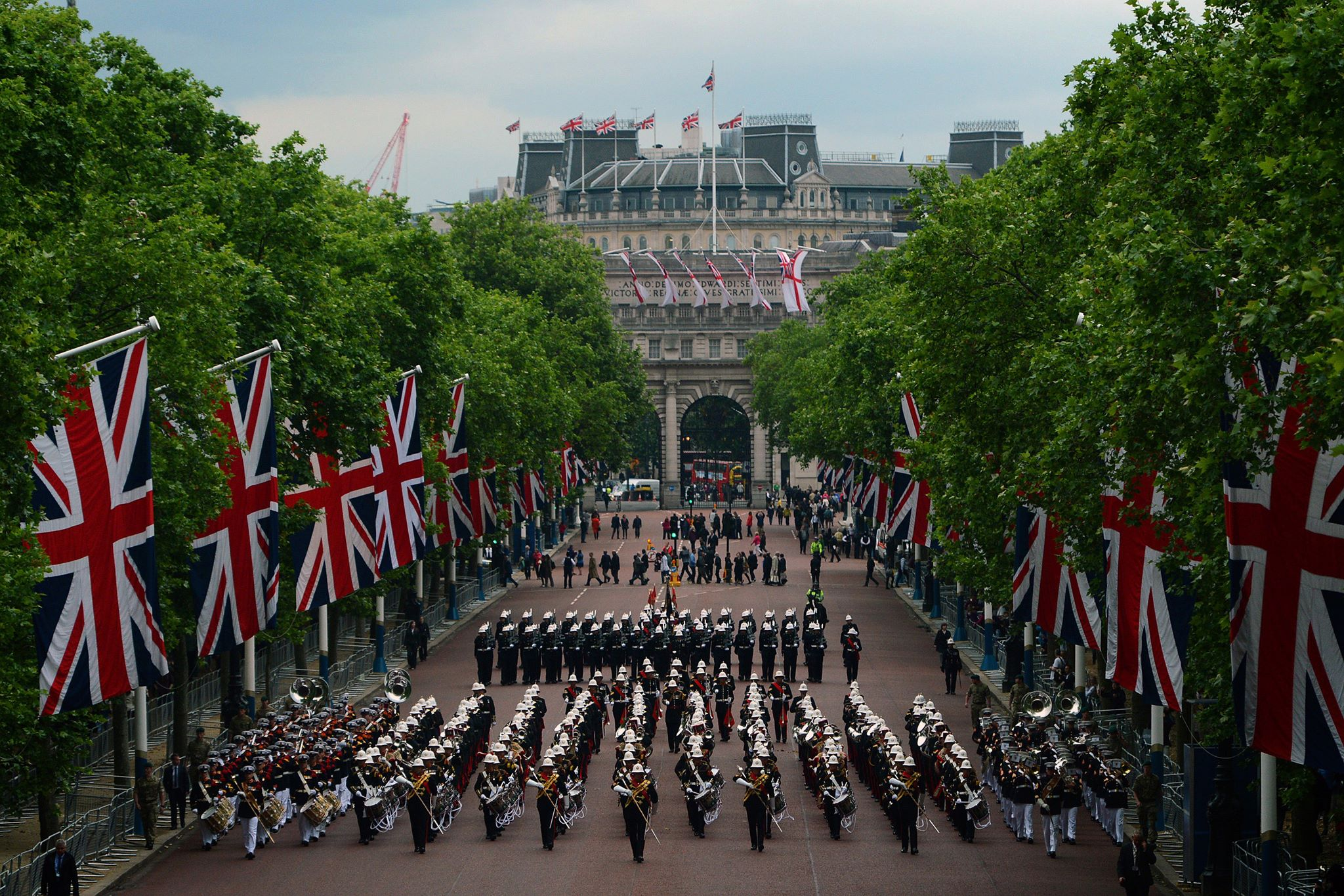 Uk s royal marines band at romania s national day parade in bucharest romania insider - Royal marines recruitment office ...